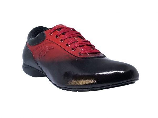 red dance sneakers