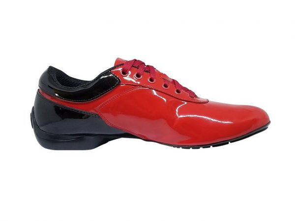 street red dance shoes