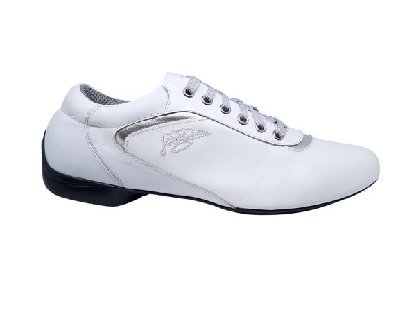 white dance shoes