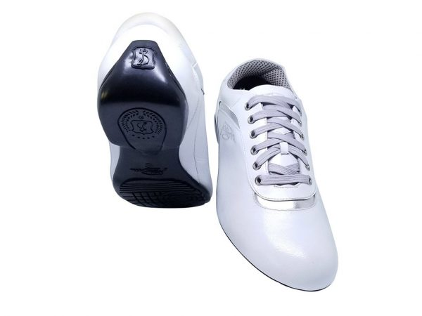 white sneaker dance shoes