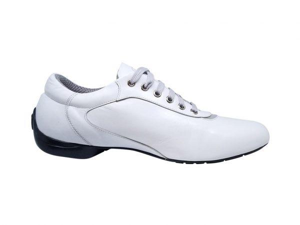 zapato blanco dance shoes