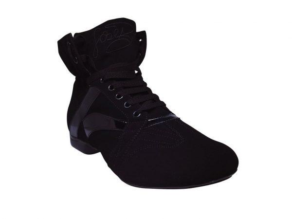 bota negra dance boots