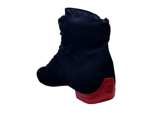 street red dance boots
