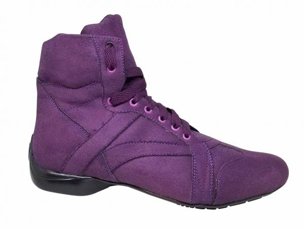 purple dance boot