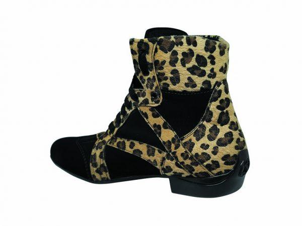 Cheetah Print dance boots