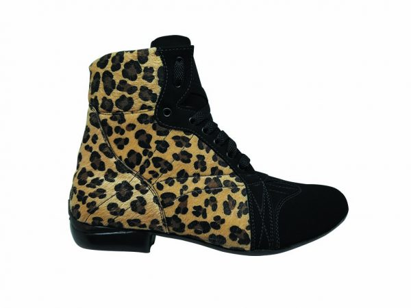 cheetah dance leopard booties