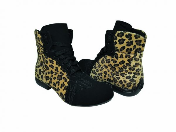 dance vegan cheeath leopard boots
