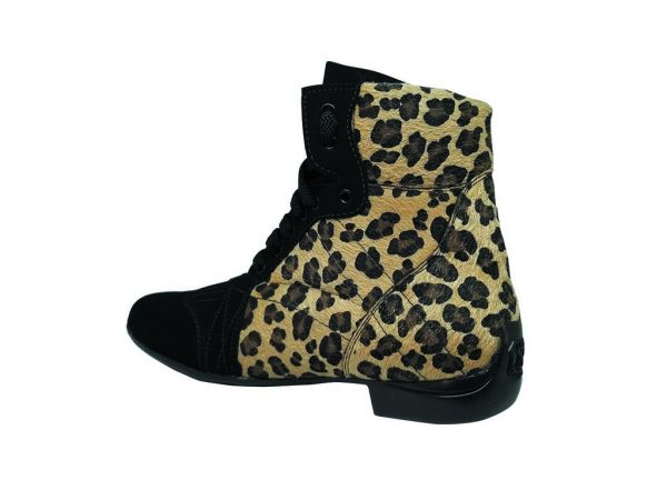 jose botta cheetah leopard dance boots