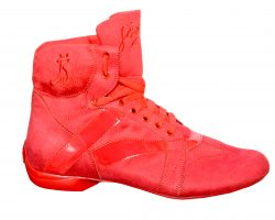 dance red boots