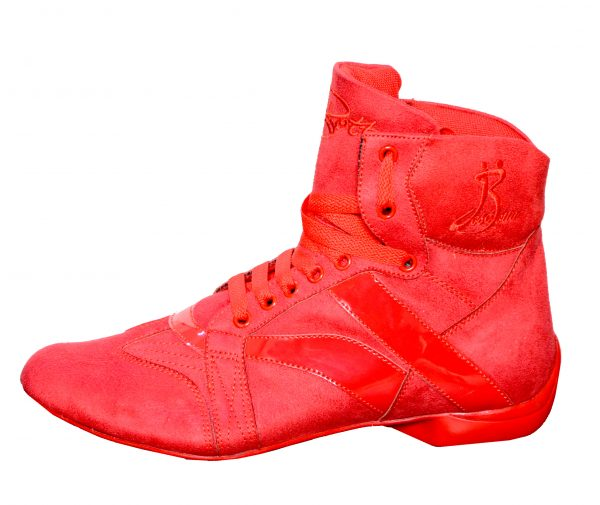man red dance boots