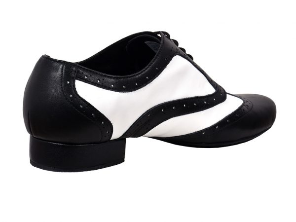 men black and white dance shoes