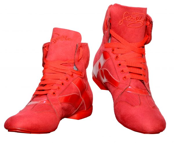 men street red dance boots