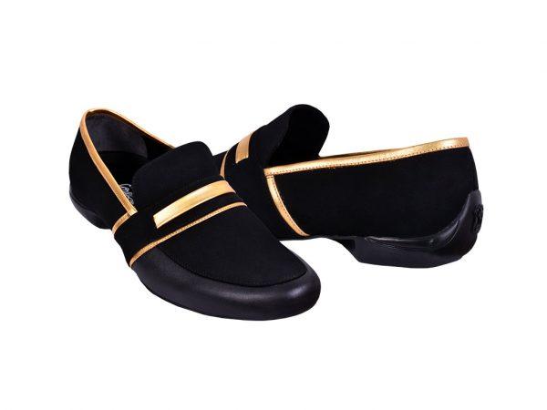 elegancia golden dance shoes